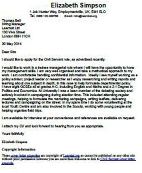 Cover letter internal recruitment